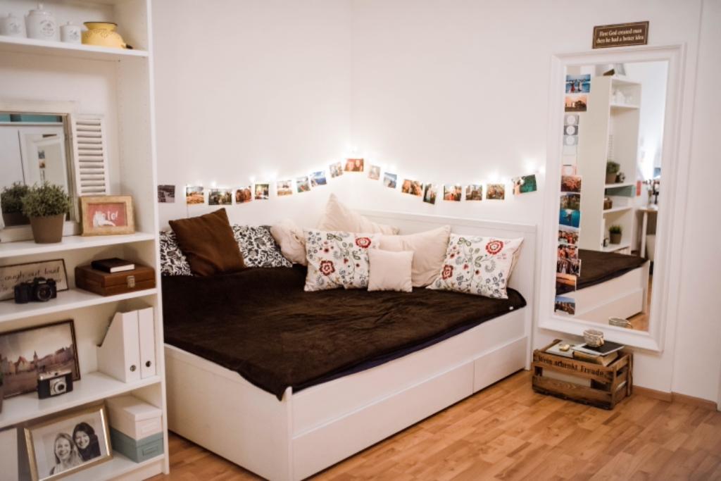 Susse Schlaf Ecke Wg Zimmer Einrichten Ideen Zimmer Zimmer Einrichten Jugendzimmer