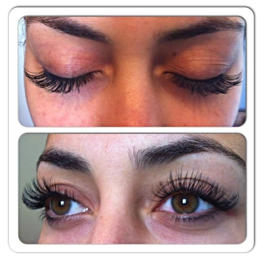 e97cff8459c MINK semi-permanent EYELASH EXTENSIONS!!!!2D-6D RUSSIAN VOLUME LASHES!! - 1