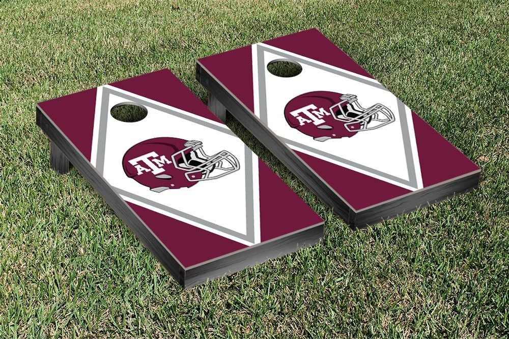 Amazing Texas Am Aggies Diamond Cornhole Bag Toss Game Products Ibusinesslaw Wood Chair Design Ideas Ibusinesslaworg