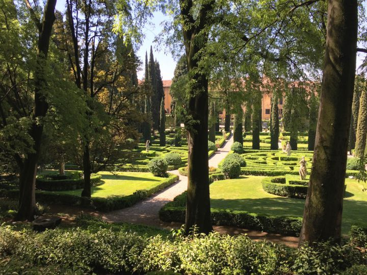 A view of the giardino giusti in verona italy from our recent