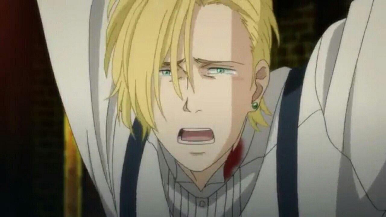 Ash Lynx Banana Fish This Episode Was Too Much For Me Banana Fish Anime