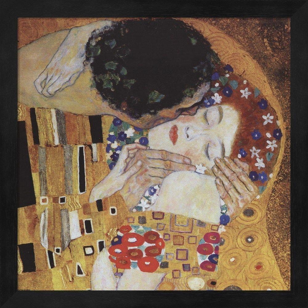 Gustav Klimt \'The Kiss | Products | Pinterest