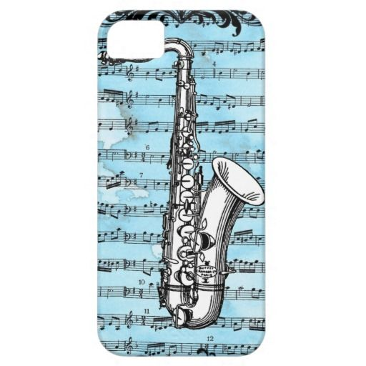 Pin By Apati Ma On Vintage Iphone 5 Cases Saxophone