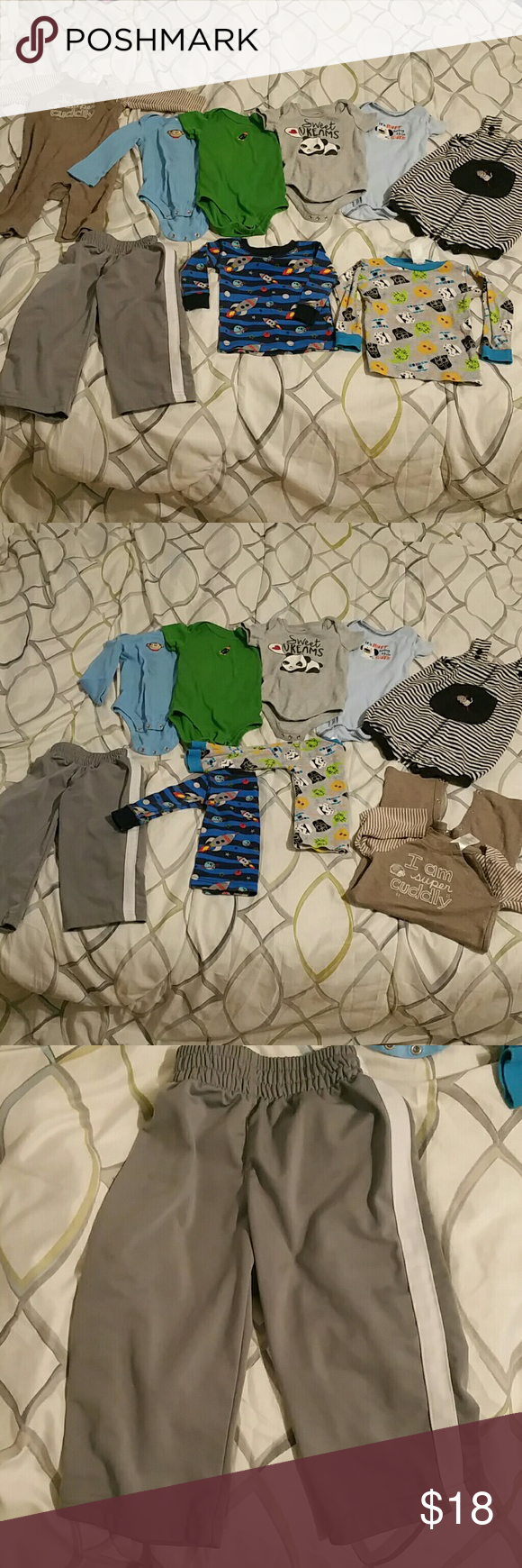 8c5d7a87f2d5 Bundle of 9 baby boy s clothing in 2018