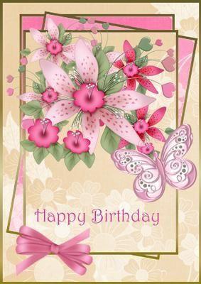 Pin By Nancy Lach On Birthday Cards Card Creator Birthday Greetings Happy Birthday Cards