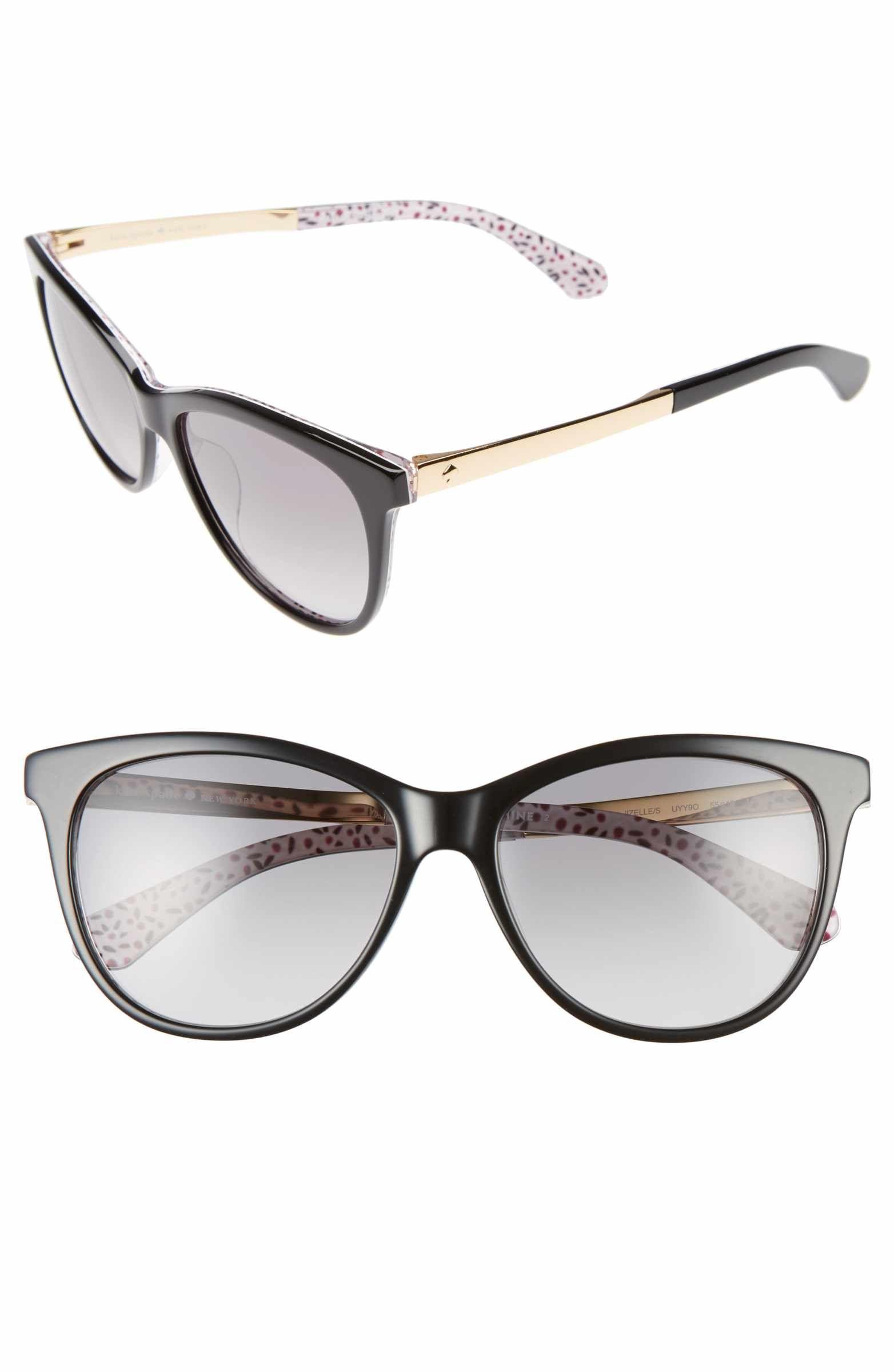 385743790e Main Image - kate spade new york jizelle 55mm Gradient Lenses Cat Eye  Sunglasses