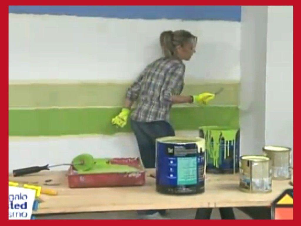 trucos para pintar las paredes a rayas