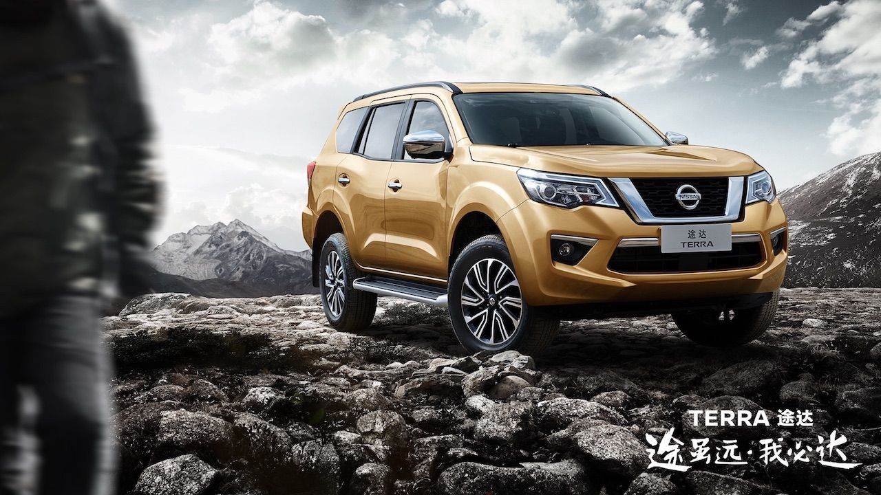 Nissan Terra To Be Launched In China On 12 April First Details Released Nissan New Nissan Terra