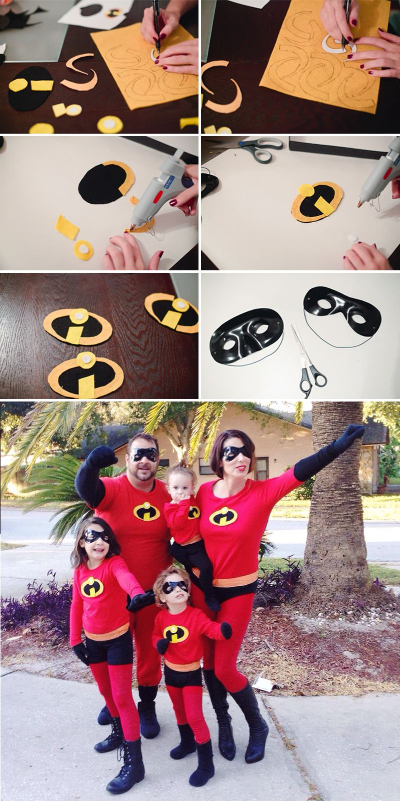 An Incredible Weekend + Easy DIY Incredibles Family Costume - Fresh Mommy Blog & An Incredible Weekend + Easy DIY Incredibles Family Costume ...