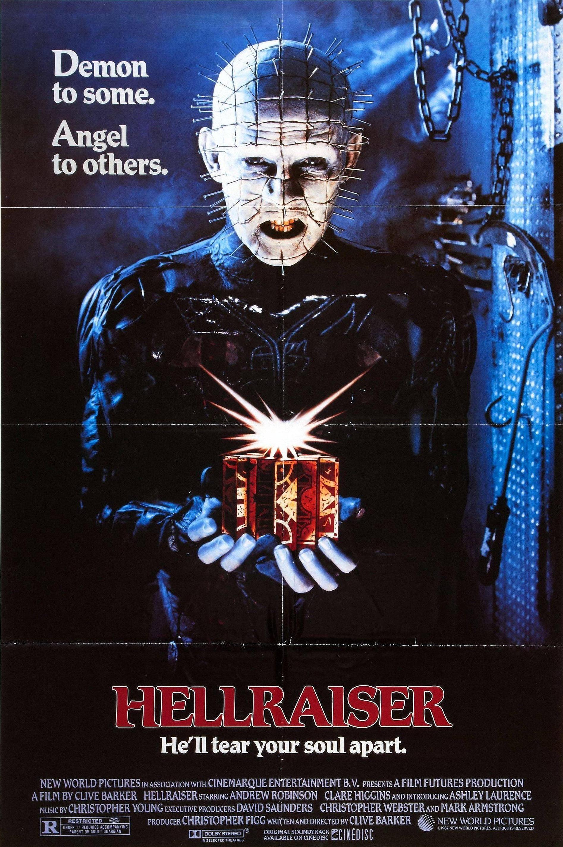 Hellraiser (1987) Poster