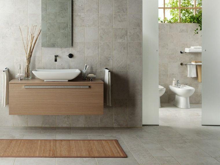 beautiful salle de bain gris et bois images amazing house design - Salle De Bain Grise Et Bois