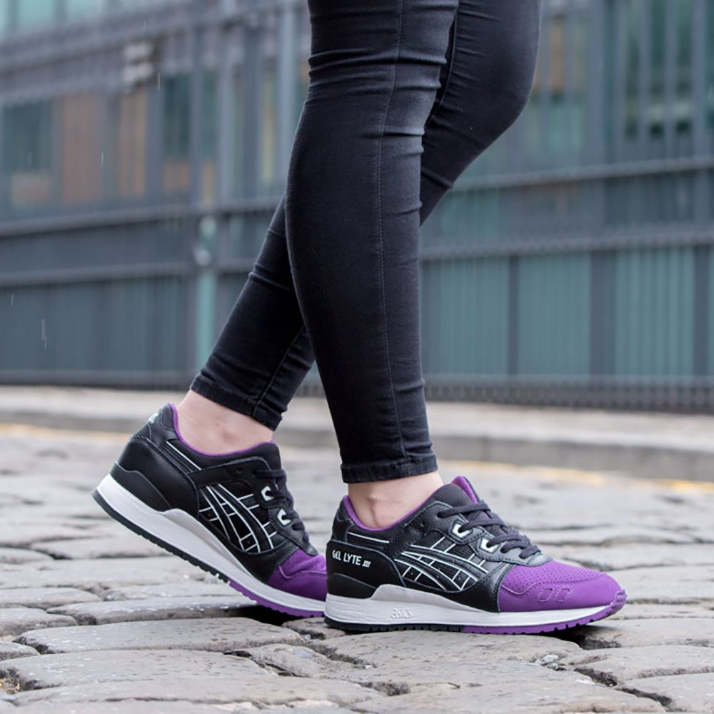 Asics Tiger GEL-LYTE III - Trainers Black Women