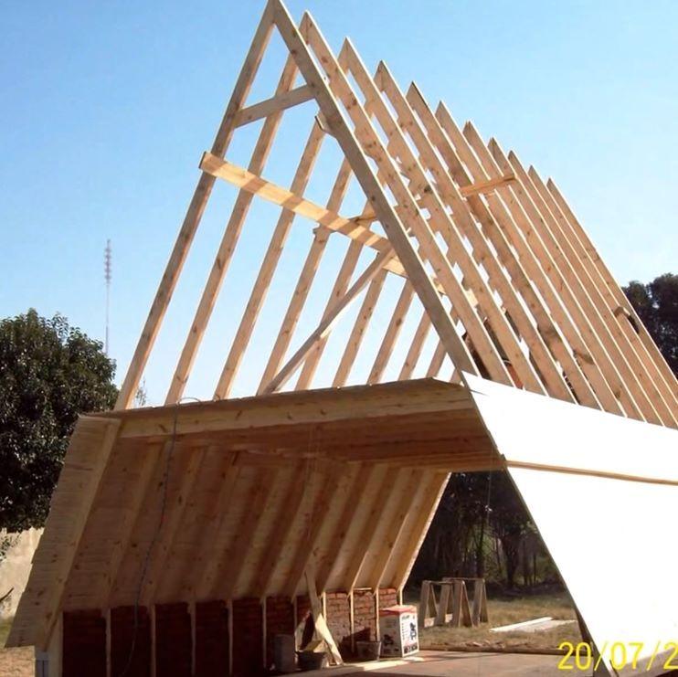 Como construir una casa alpina | estructuras | Pinterest | Minihaus ...