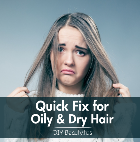 how to get rid of oily hair without washing