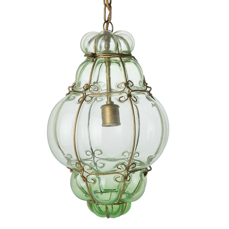 Bathroom Lights Keep Blowing 507 antiques | vintage hand blown seguso murano glass cage pendant