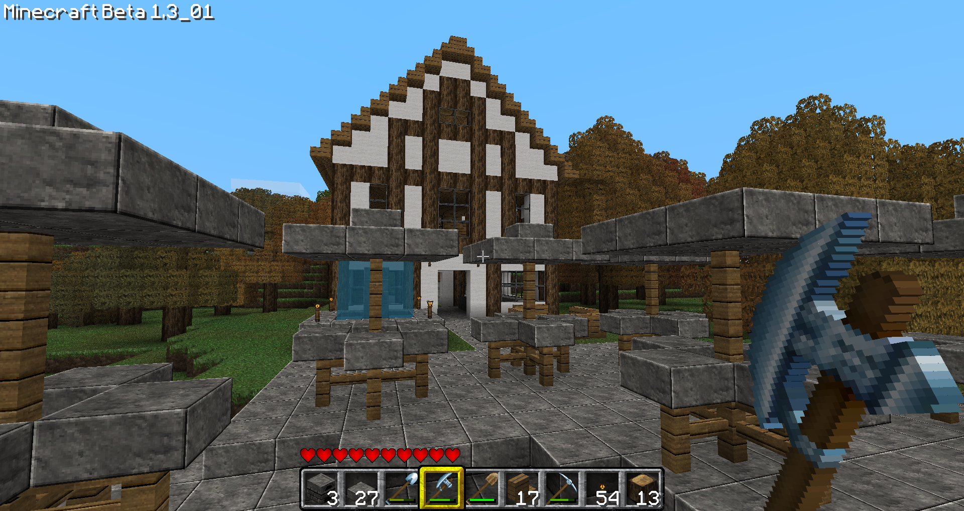 Minecraftdesigns - Minecraft Design Frage] My Cafe