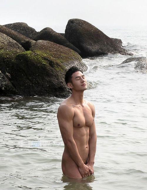 Beach hot asian gays