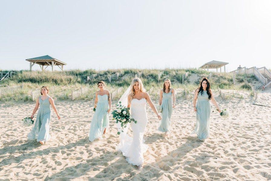 Outer Banks Sunset Wedding Jeff Amanda Beach Wedding Photos Outer Banks Wedding Sunset Beach Weddings
