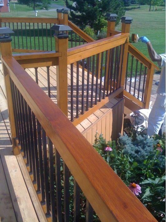 Deck rails Decks for our pool Deck railings, Deck