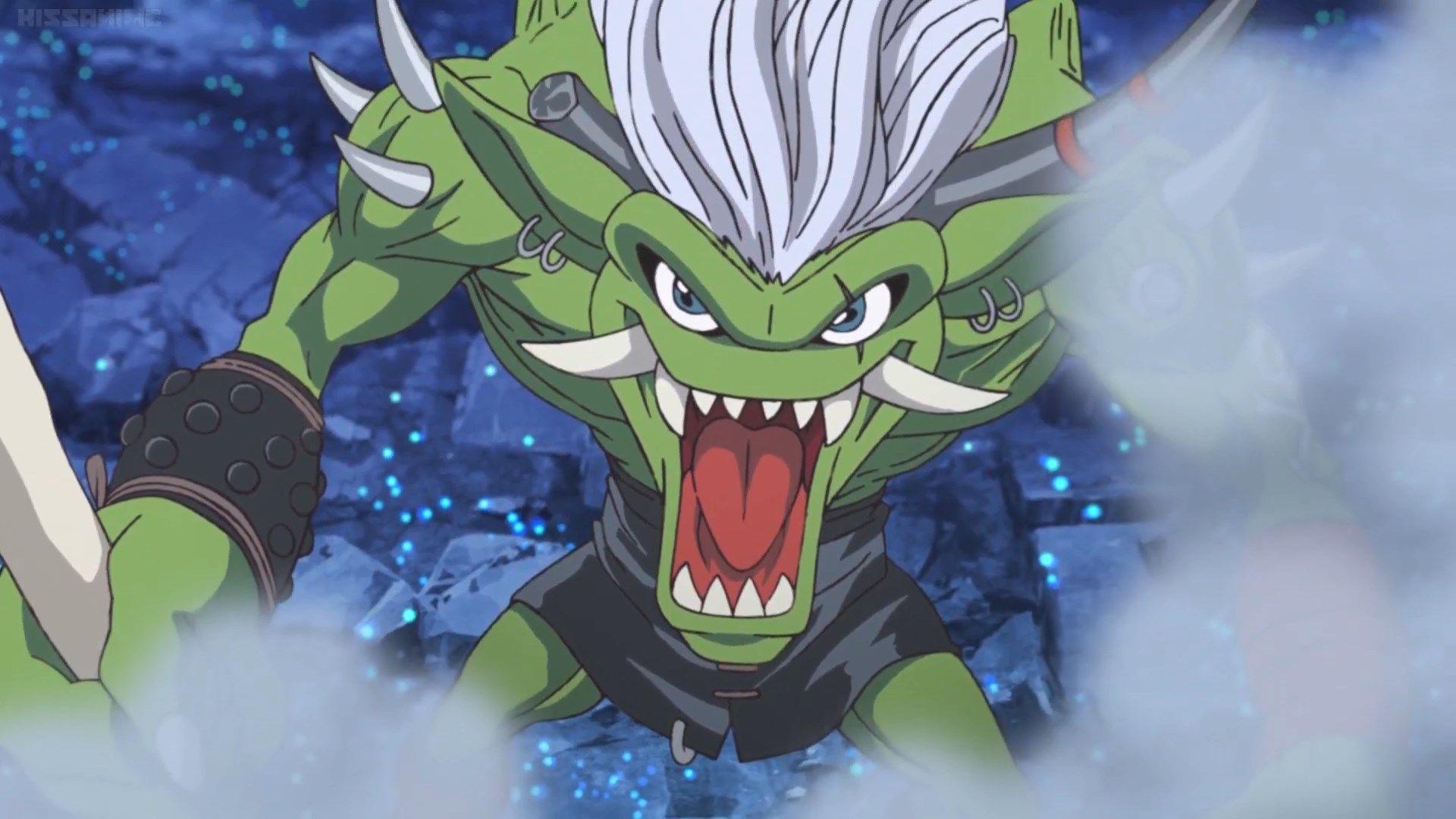 Digimonadventure2020 E9 Ogremon 2 In 2020 Animated Movies Digimon Adventure Digimon