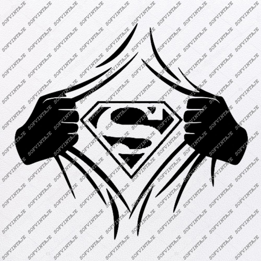 Superman Svg File Superman Original Svg Designtattoo Svg Superman Clip Art Superman Vector Graphics Svg For Cricut Svg For Silhouette Svg Eps Pdf Dxf Superman Art Drawing Superman Art Vector Graphics