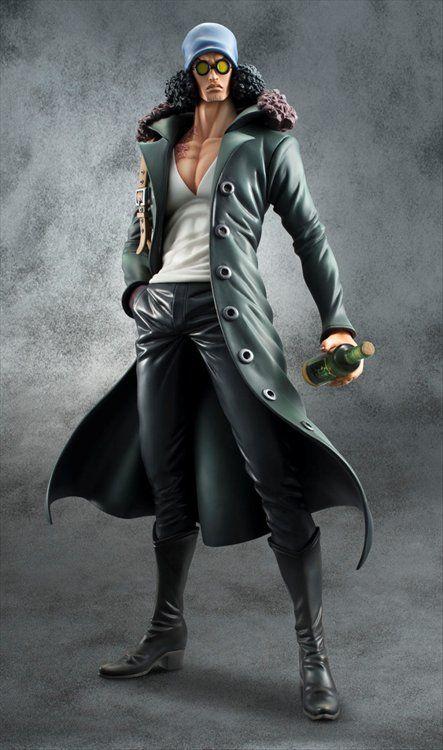 One Piece - 1/8 Portrait of Pirates Aokiji Kuzan Edition Z Series Figure
