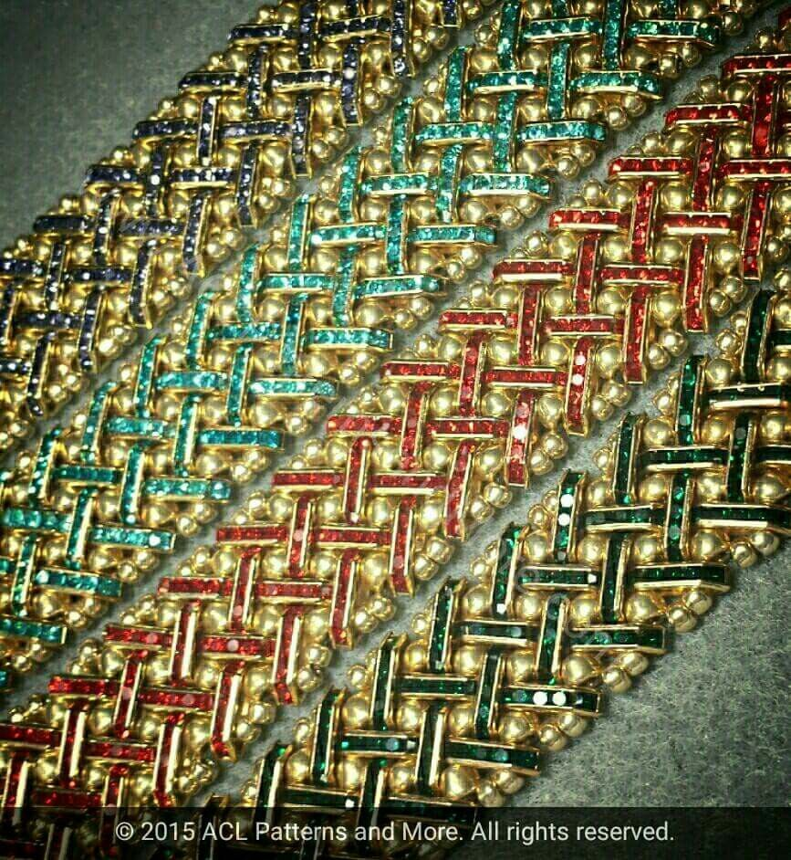#Azteca #Fiesta - #Oro Collection coming  soon to www.ACLPatternsandMore.com  #ArtYoullLoveToWear