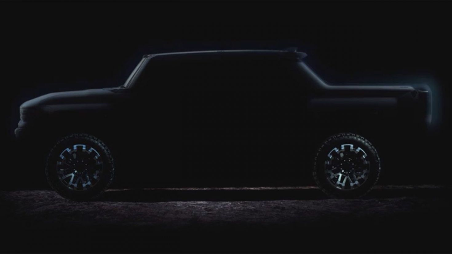Gmc Hummer Ev Teased In Photos Ahead Of Fall Reveal In 2020