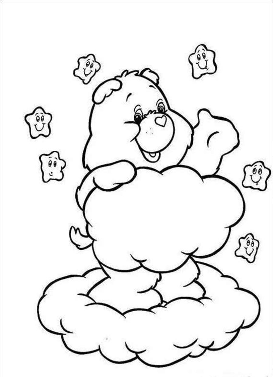 Care Bears Free Printable Coloring Pages No 56   Bear ...   non printable coloring pages online free