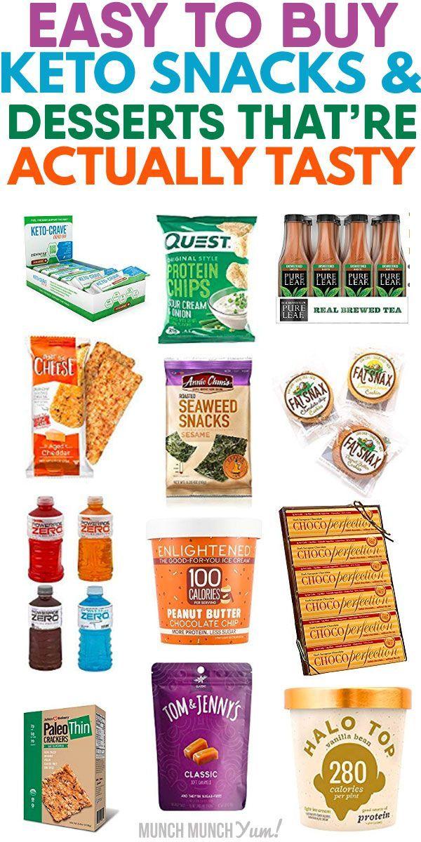 13 NOHASSLE Keto Desserts & Snacks to Buy Keto snacks