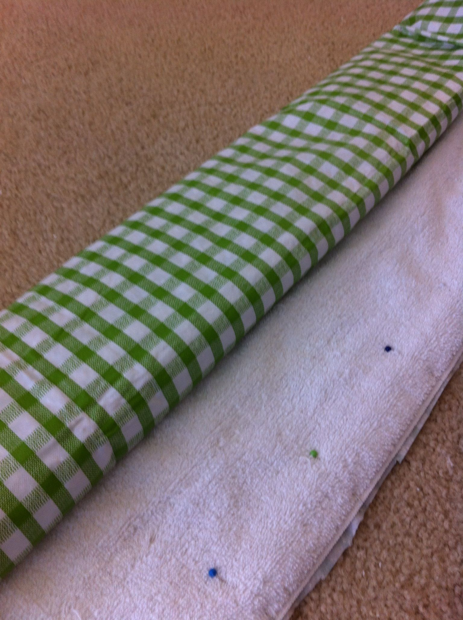 Make your own doggy training or pet accident pads. Sew a