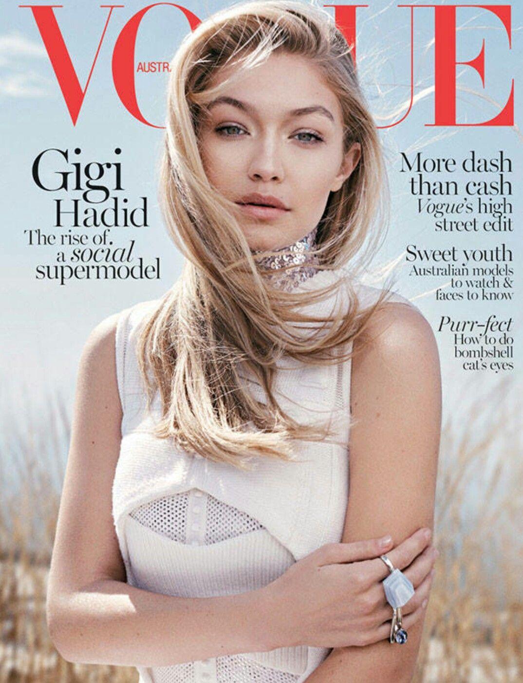 8aae3ddd9dcde Gigi Hadid for Vogue   Fashionable Ladies   Pinterest   Vogue, Vogue ...