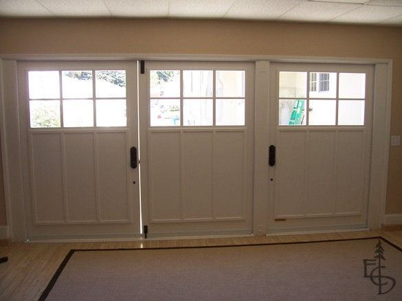 Carriage Doors Transform This Garage Into A Wonderful