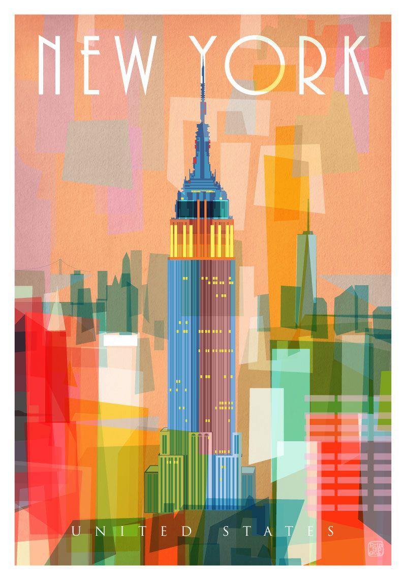 printspace new york ii limited edition art print created using