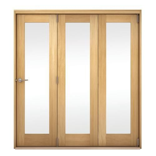 Belgrave Oak Veneer Folding Doors Internal Folding