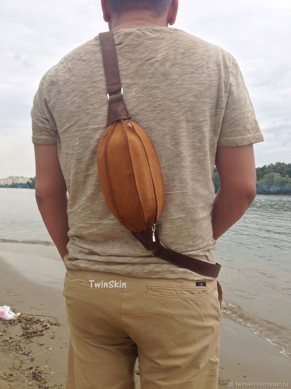 8c581a56d21b Мужские сумки ручной работы. Ярмарка Мастеров - ручная работа. Купить  Регби, барсетка мужская