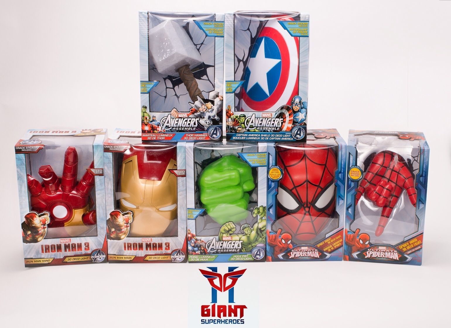 Super cool avengers 3d wall deco night lights for sale 3d wall super cool avengers 3d wall deco night lights for sale mozeypictures Image collections