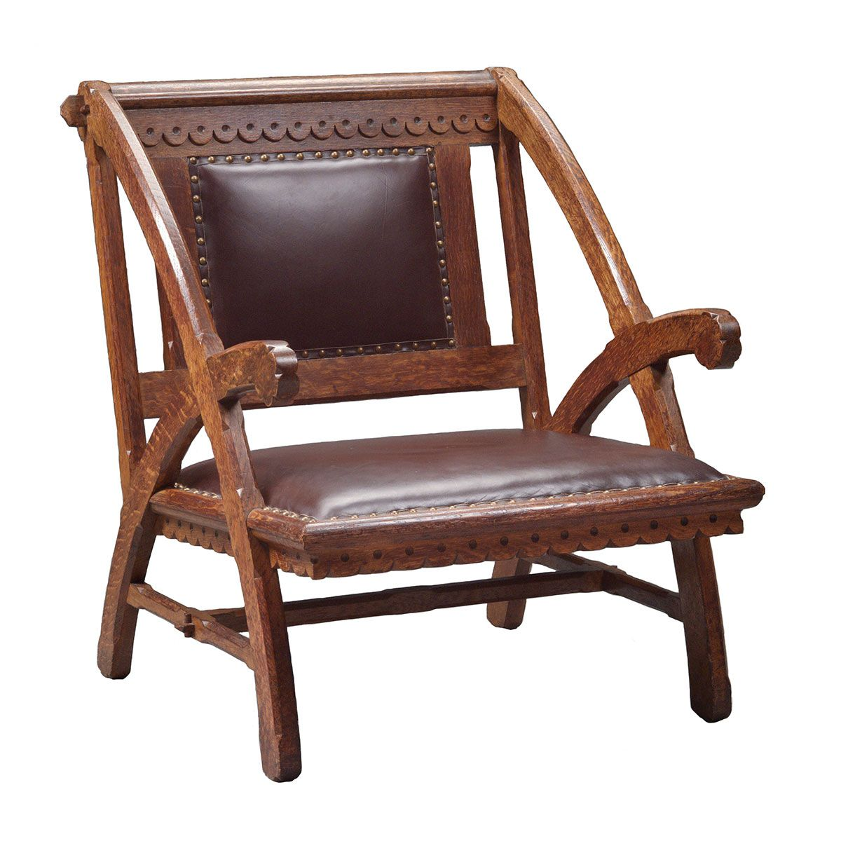Armchair For The Woburn Public Library Probably Designed By HH Richardson Possibly Manufactured A H
