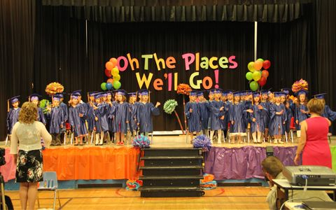 Oh The Places You Ll Go Graduation Theme Preschool Graduation Kindergarten Graduation Themes Kindergarten Graduation