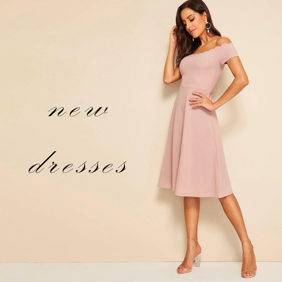 مظهرك اكثر انوثه بهذا الفستان تلاقينه بقسم الفساتين Sh C10074 فستان فساتين ملابس نسائيه Dresses Fashion Clothes