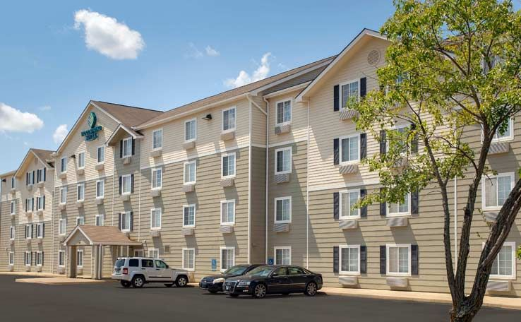 Woodspring Suites Huntsville Madison Is A Smoke Free Extended Stay Hotel In Room Kitchens Guest Laundry Room And Vending Machines Extended Stay Hotel Suites
