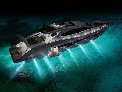 luxury yatch design