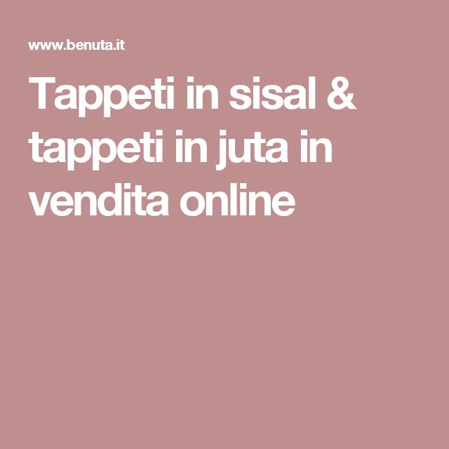 Tappeti in sisal & tappeti in juta in vendita online | casa ...
