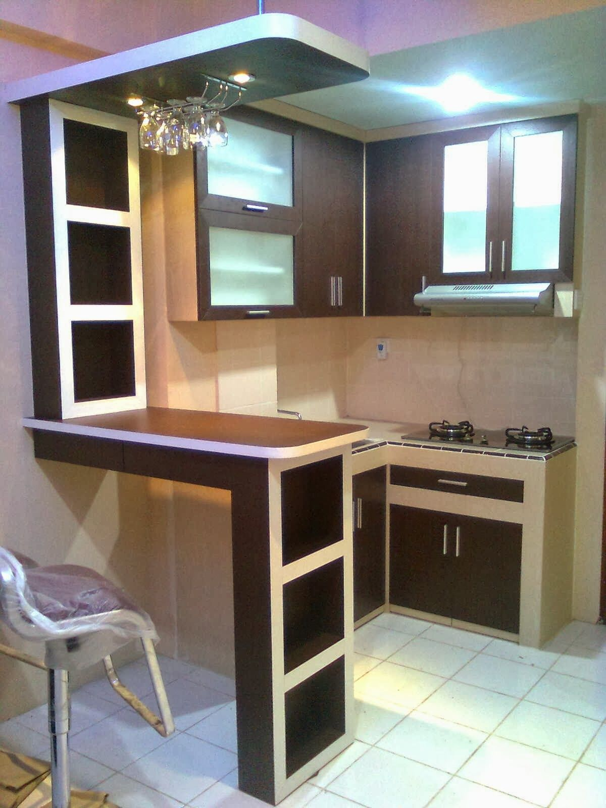 harga kitchen set per meter kitchen set pinterest