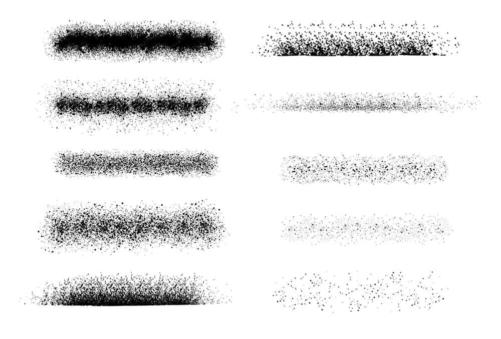 Free Spray Paint Stipple Brushes For Illustrator Ai Illustrator Brushes Stippling Free Brush