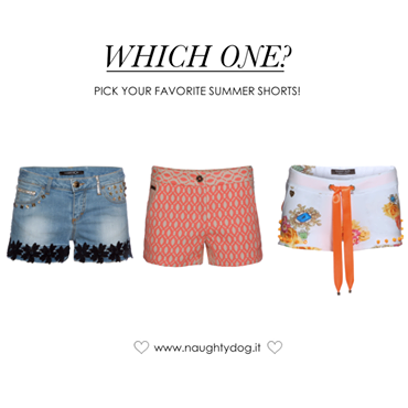 #Shorts season is coming! Which one would you love to wear the most? #fashion #trends #summer #spring #ss14 #pe14