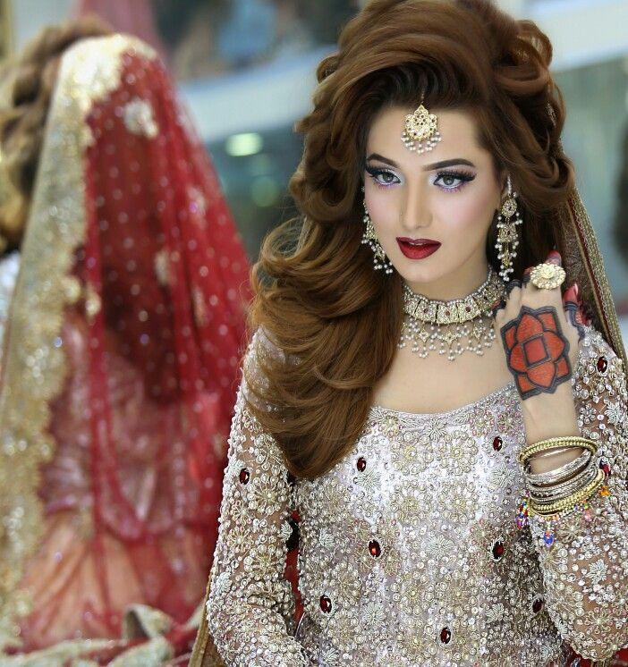Hairstyles Pakistani Bridal Makeup: Kashee's Pakistani Bridal Makeup And Hairstyling