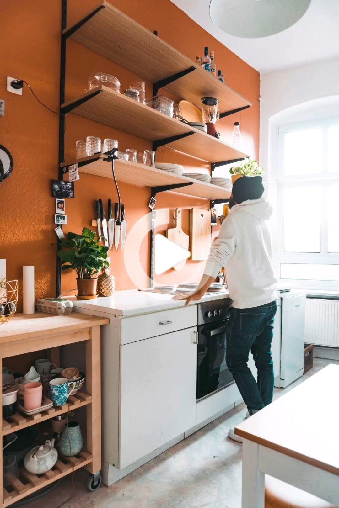 La Cucina Prima E Dopo E Il Momento Di Qualcosa Di Nuovo Con La