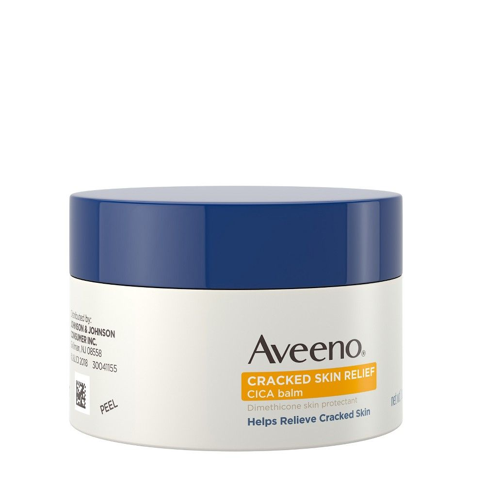 Aveeno Cracked Skin Relief Moisturizing CICA Balm with Oat - 1oz
