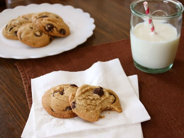 Gluten-Free Brown Butter Chocolate Chip Cookies. For my gluten free friendsies.